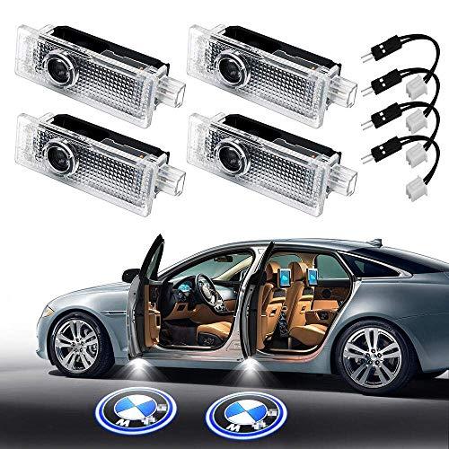 4 Stück Einstiegsbeleuchtung Tür Licht Logo Projektor Autotür Türbeleuchtung Autotür LED Licht