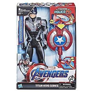 Avengers-E33011050 Avengers - Titan Hero FX Capitán América (Hasbro E3301105)