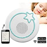 snu:mee - 3 in 1: Babyphone, Spieluhr und MP3-Player (steuerbar mit iPhone, Android App, WLAN, Wi-Fi, Streaming, kristallklarer Sound)