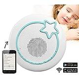 Baby Stars - Babyphone Wifi avec smartphone. Ecoute-bebe Audio Lecteur Mp3 et Boite a musique Baby stars Snu Mee Rock2sleep