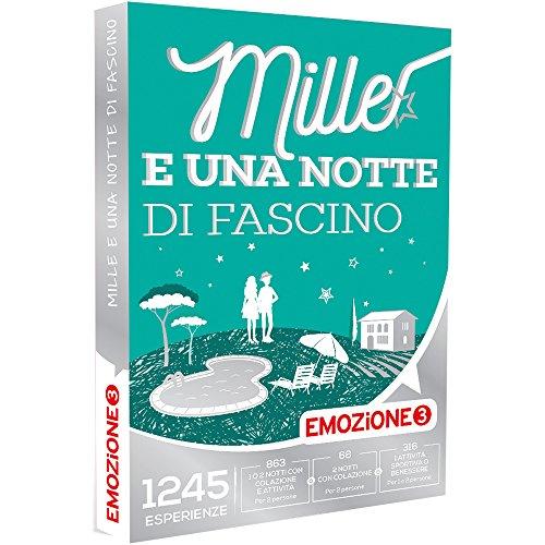 Emozione3 - cofanetto regalo - mille e una notte di fascino - 1245 soggiorni con colazione , cena, relax o attività di svago