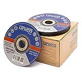 50 Stück Trennscheiben Ø125 x 1 mm Inox Edelstahl Metall Extradünn Flexscheiben