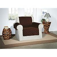 Cubre Chocolate / Marrón para Sillones - Protector de Muebles Acolchado de Lujo