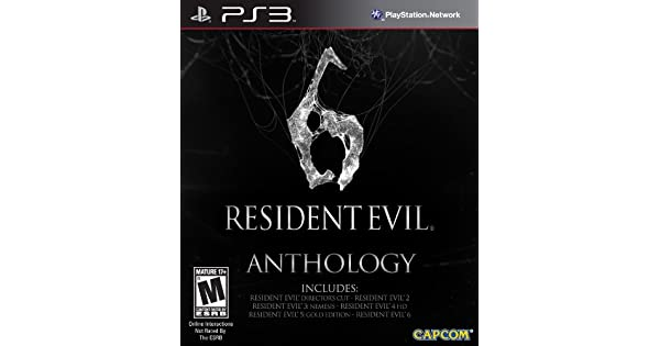 resident evil 6 anthology  problems