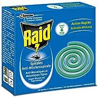 Preisvergleich für Raid Anti-Mückenspirale, 4er Pack (4 x 10 Stück)