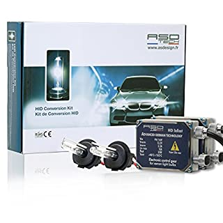 ASD Tech kitxenonh7506p Kit Xenon H76000K Big Vorschaltgerät 35W