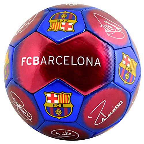 Balón de fútbol Oficial del FC Barcelona La Liga, tamaño 5