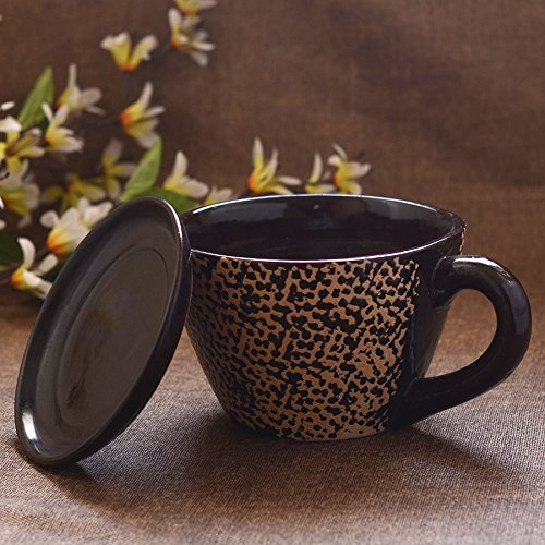 Buy Unravel India Ceramic Brown Cup Saucer Planter On Amazon
