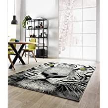 Tapis tigre for Amazon tapis de salon