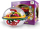 208 Steps 3D Magic Intellect Maze Ball E...
