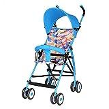 Biciclette per bambini DUO Carrozzina Passeggino Ultralight Pieghevole portatile...
