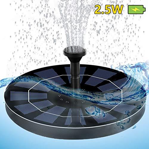 Caracteristicas: 1. No necesita tomacorriente o batería. Este producto flota en el agua y comienza a bombear agua poco después de que la luz solar brilla directamente sobre las células solares. 2. La instalación es simple, fácil de usar, siempre q...