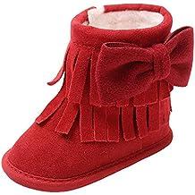 Botas Bebe Invierno,❤ Amlaiworld Zapatos Cuna Suave Bebé Niños Niñas Primeros Pasos Botas