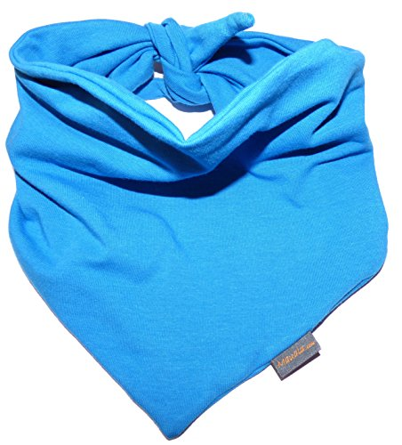 Mauala Halstuch doppelseiting (S,M,L) (blau, S (80x25cm))