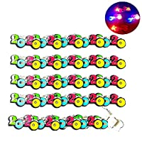 Auplew Christmas Brooch 2020 New Year LED Brooch Pin Pins Decorations Gift 25 Pieces