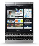 Blackberry Passport Silver Edition rhr191lw 32 GB SQW100 – 4 QWERTY Factory Unlocked 4 G/LTE Cell Phone, [UK Import]