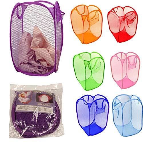 CHENHUI Wäschekorb 7-teiliges Set New Faltbare Pop Up Waschen von Kleidung Wäschekorb Bag Home-Friendly Laundry