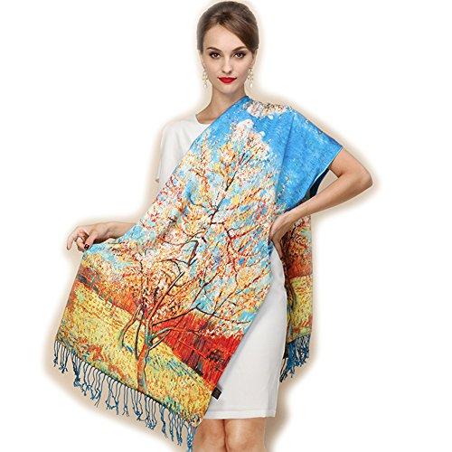 Zoom IMG-3 b joy sciarpa donna blau