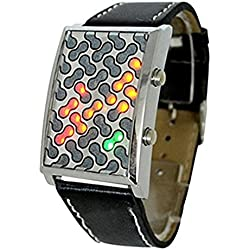 Super cool futuristic red, yellow, and green LED watch - The ultimate gadget by Techaffect