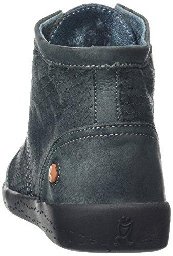 buy online 23c2f 0ebce ... Softinos Damen Inu343sof Sneaker Blau (Petrol) ...