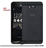 Hello Zone Exclusive Dotted Design Soft Back Case Cover Back Cover For Asus Zenfone Max ZC550KL-Black