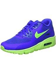 Nike Racer Blue / Electric Green-Blk, Zapatillas de Deporte Para Niños