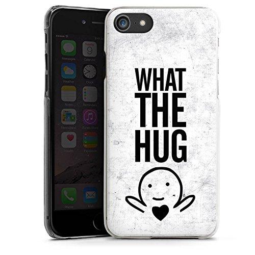 Apple iPhone X Silikon Hülle Case Schutzhülle Liebe Herz Sprüche Hard Case transparent