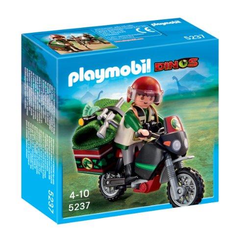 Playmobil dinosaurios moto explorador 5237 de for Playmobil dinosaurios