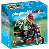 Playmobil 5237 Dinos Explorer with Motorcycle