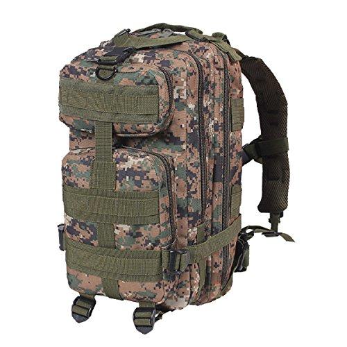 Yy.f30L Armee Fans Taktischer Rucksack 3p Angriff Kampftasche Outdoor Tarnung Berg Tasche Multifunktionale Spezialkräfte Angriff Pack. Multicolor A