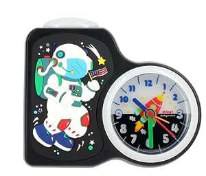 Baby Watch - Dring Astronaute - Réveil Garçon - Quartz Analogique - Cadran Multicolore