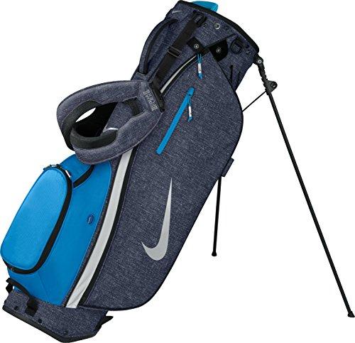 2016 Nike Sport Lite II Stand / Carry Golf Bag 5-Way Divider Dark Obsidian/Silver/Photo Blue