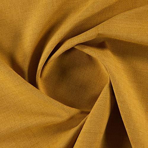 Luisa 025-98% Polyester, 2% Baumwolle, Goldgelb Luisa Satin
