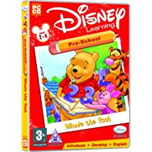 Disney Learning Winnie The Pooh Pre School Ages 2-4 (PC)