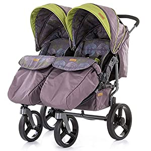 Chipolino Twix Pushchair Brown   1