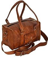 Gusti Leder R5 - Bolso bandolera (piel, tamaño grande), color marrón