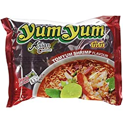 Yum Yum Nouilles Instantanées Crevette Tom Yum 30 x 60 g