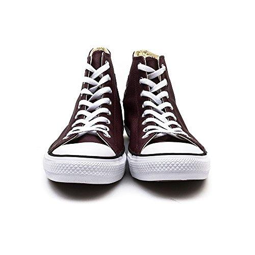 Converse  Ct Core Lea Hi,  Sneaker unisex adulto Bordeaux