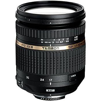 Tamron SP AF 17-50mm F/2.8 XR Di II VC LD Aspherical [IF] - Objetivo (SLR, 19/14, 2.8, Nikon, 4,8x, Negro)