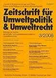 ZfU - Zeitschrift für Umweltpolitik und Umweltrecht [Jahresabo]
