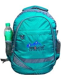 Himalayan Adventures 25 Ltrs Green, Backpack/Rucksack/Travelling Bag/Hiking Bag/Adventure Bag/Camping Bag (Nylon...
