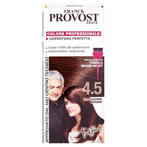Haarfärbemittel permanente Farbe N 4,5 braun Mahagoni