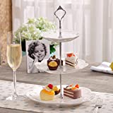 Generic Set of 3 Tiers Cake Plate Stand ...