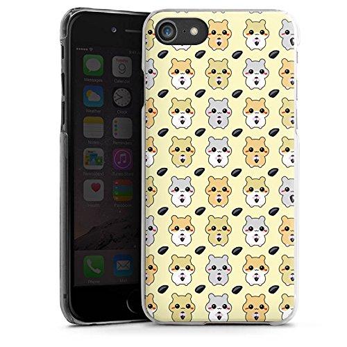 Apple iPhone X Silikon Hülle Case Schutzhülle Hamster Kawaii Süß Hard Case transparent