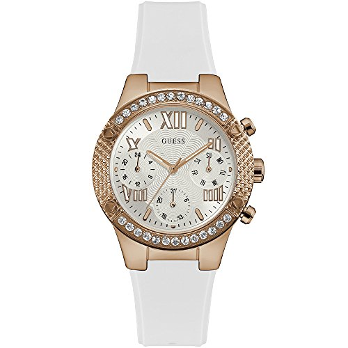 uarz Uhr mit Edelstahl Armband W0778L2 ()