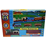 Kiditos Thomas and Friends Electric Track Train Set with Platform (Multicolour)
