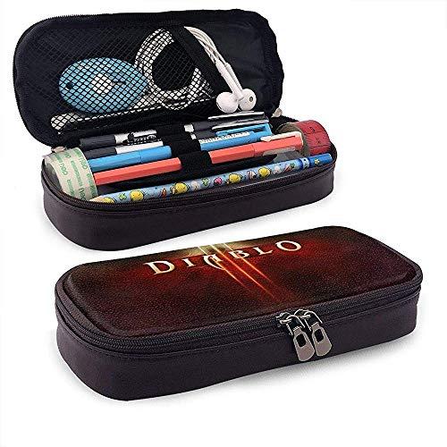 Bleistiftbeutel mit großer Kapazität Stift Case Dia-blo III Bleistiftbeutelhalter, Tragbarer Bleistiftstift-Organizer -