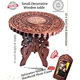 Wood City Handicrafts Sheesham Wooden Table End Coffee Table for Living Room