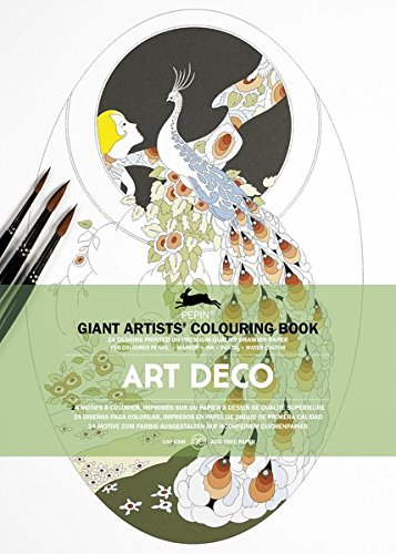 Art Deco: Giant Artists' Colouring Book (Giant Artists' Colouring Books)
