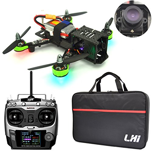 LHI FPV RTF Full Carbon Fiber 220 mm Quadcopter Race Copter Racing...
